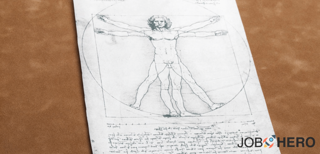 curriculum Leonardo da vinci, curriculum efficace